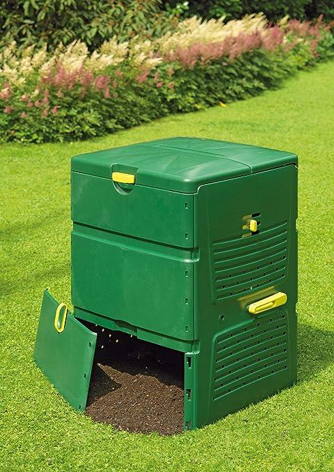 Juwel Premium Komposter Aeroquick 890 XXL geschlossen, mit Scharnierdeckel, UV-stabil, Nutzinhalt: 900 l 20157