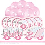 Baby Shower Essential Party Pack from Pink Umbrellephant Range (16 Guest)