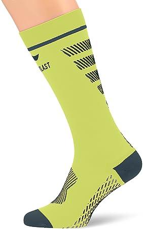 Sportlast Pro Calcetines de Compresión, Amarillo/Azul, S: Amazon.es: Deportes y aire libre