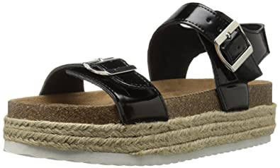 27666763a5a Amazon.com | Qupid Women's Geona-02 Espadrille Wedge Sandal ...