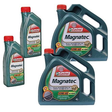 2 x 1 l + 2 x 4 L=10 litros Castrol Magnatec 10 W-40 A3/B4 ...