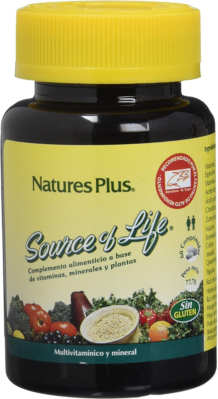 Nature´s Plus Source of Life Multivitamínico - 60 Comprimidos
