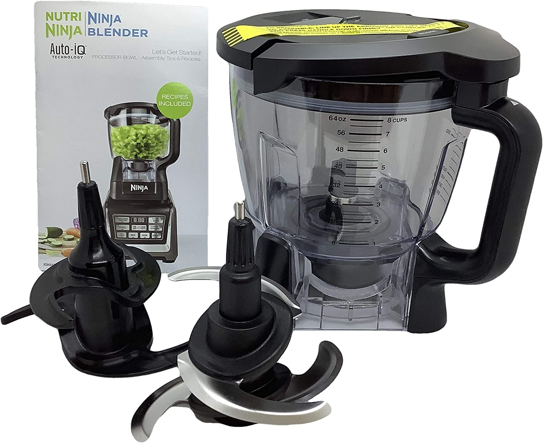 Ninja 64 oz (8 tazas) Kit de cuenco de procesador de alimentos ...