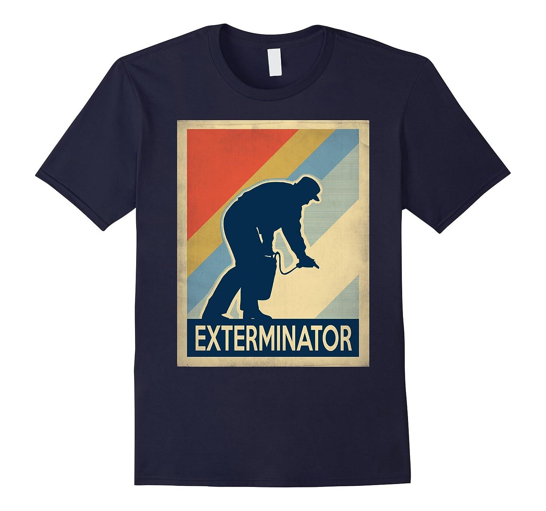 Vintage style exterminator Tshirt-Art
