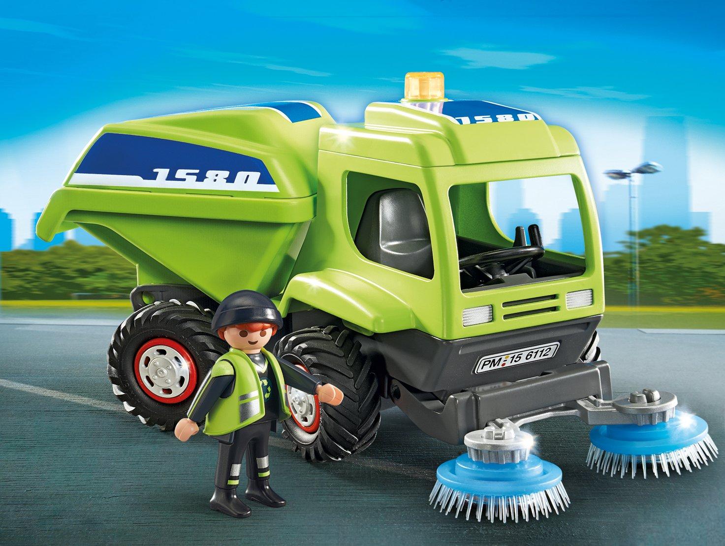 PLAYMOBIL Street Cleaner Playmobil Cranbury 6112