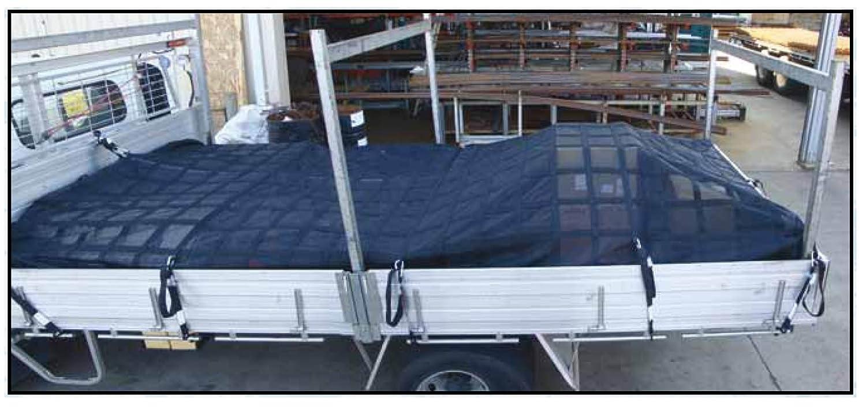 Gladiator Cargo Net Medium Heavy Duty Truck Cargo Net MGN-100 6.75 x 8 ft.