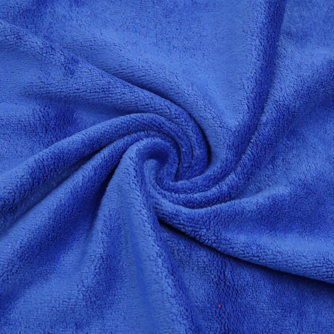 Amazon.com: eDealMax 2 piezas Gris Azul Inicio del Cuerpo de coche de pulido de limpieza Lavado Wipe toalla 40cm x 40cm: Automotive