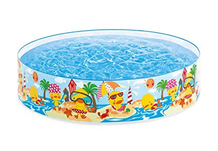 Amazon.com: Intex Duckling Snapset Paddling Pool: Jardín y ...