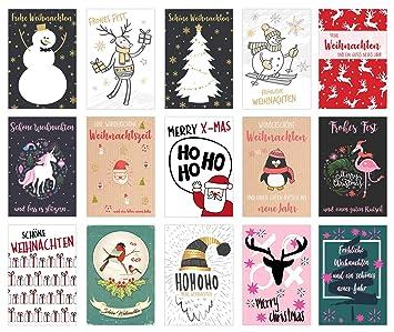 Weihnachtskarten Clipart.Set 30 Weihnachtspostkarten Weihnachten Karten Postkarten Weihnachtskarten