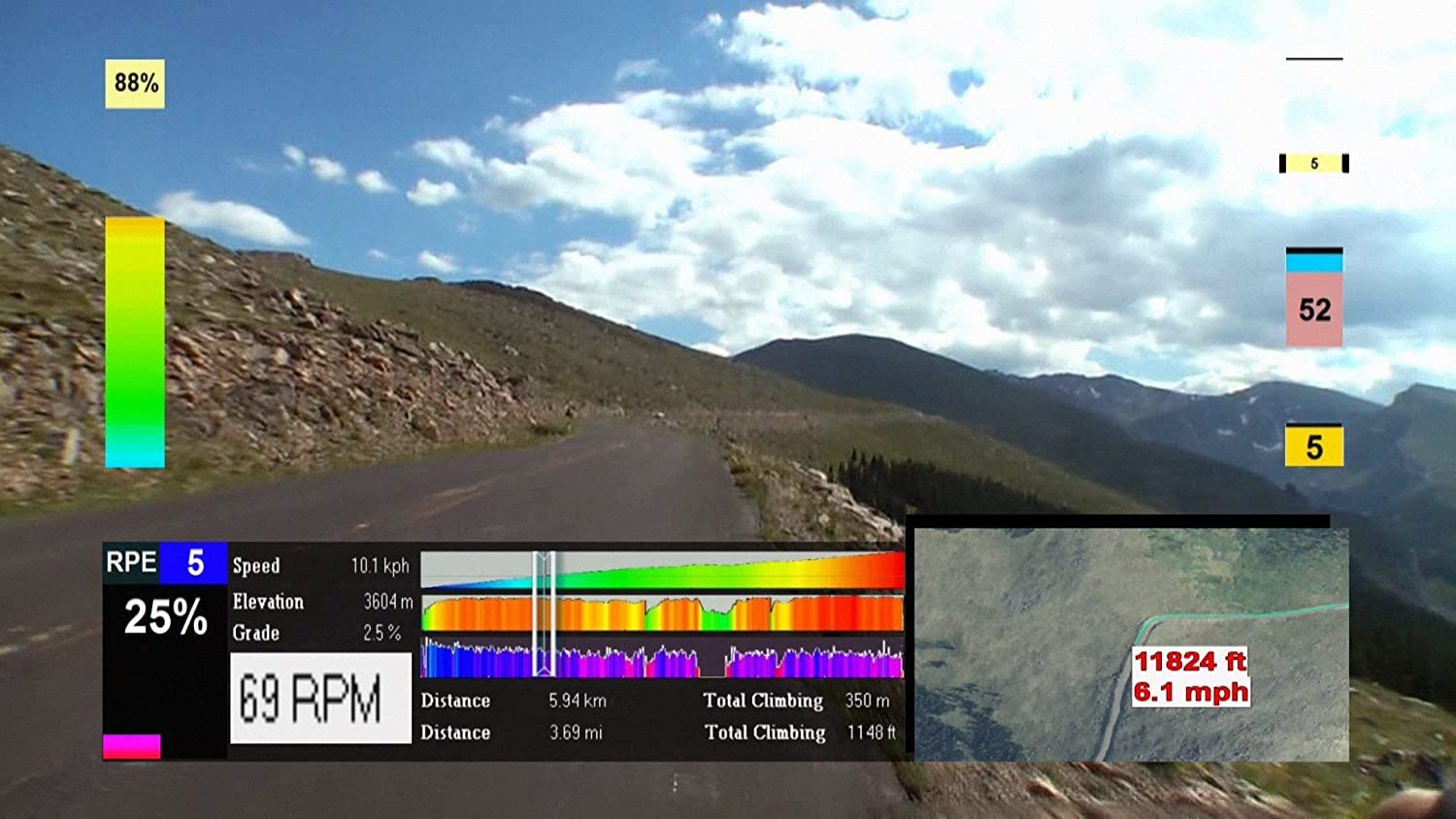 Training to Climb! 14,285 Feet Mt Evans Colorado. DVD Virtual ...