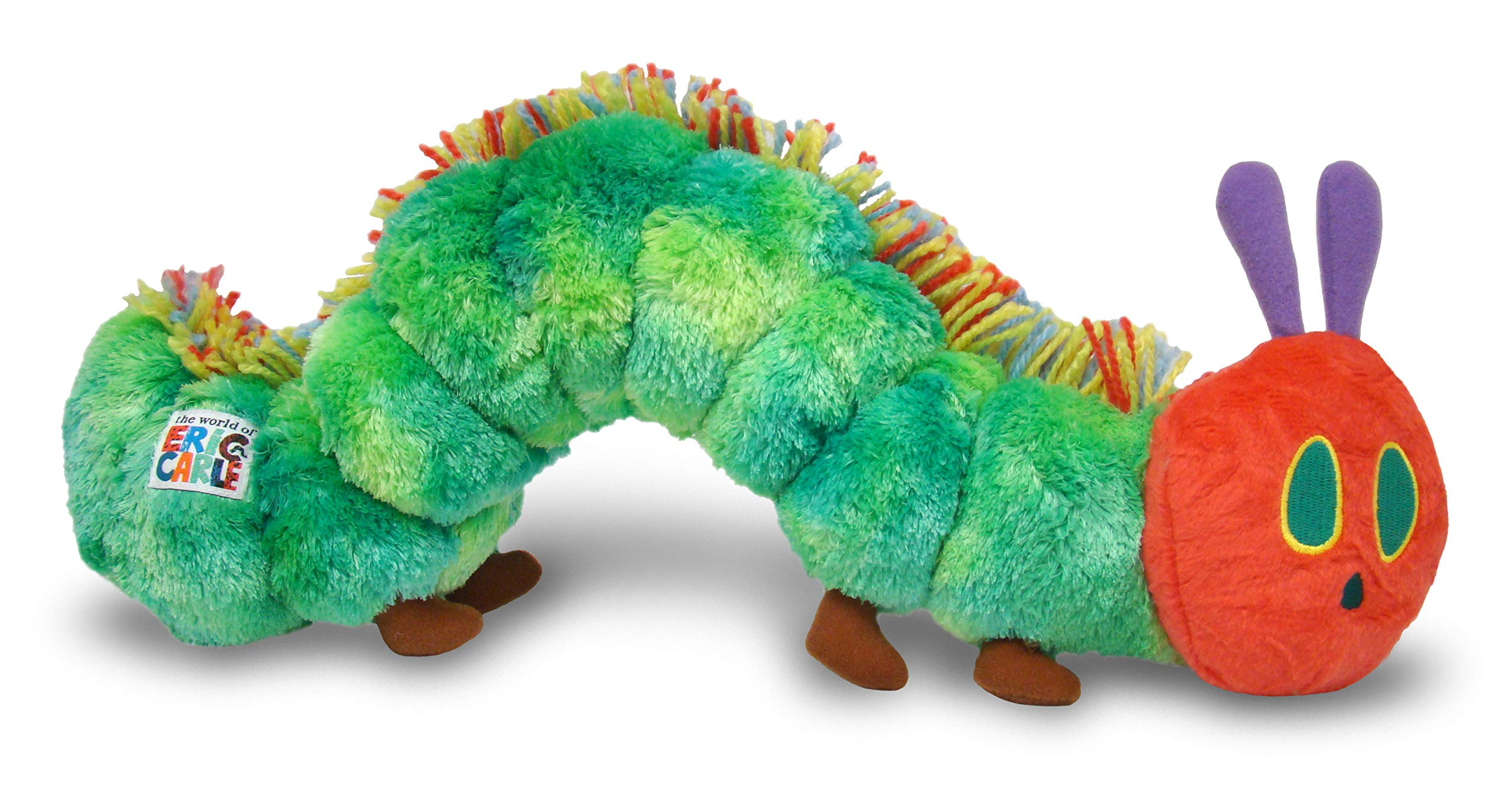 World of Eric Carle, The Very Hungry Caterpillar Plush by KIDS PREFERRED