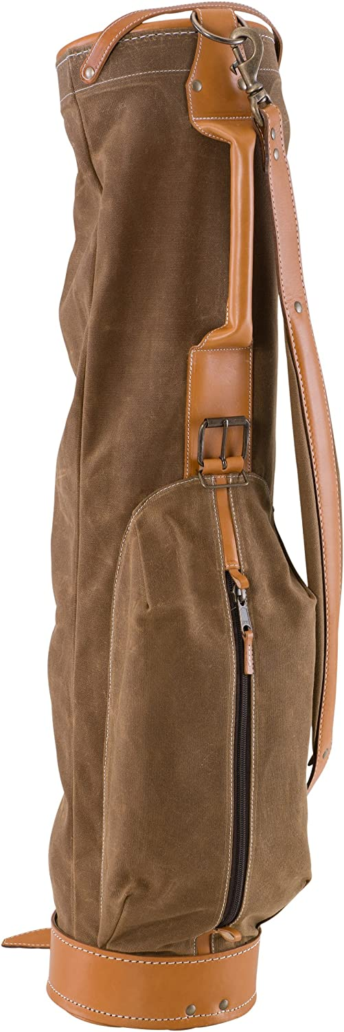 BELDING American Collection Vintage Golf Carry Bag, 7-Inch, Tan