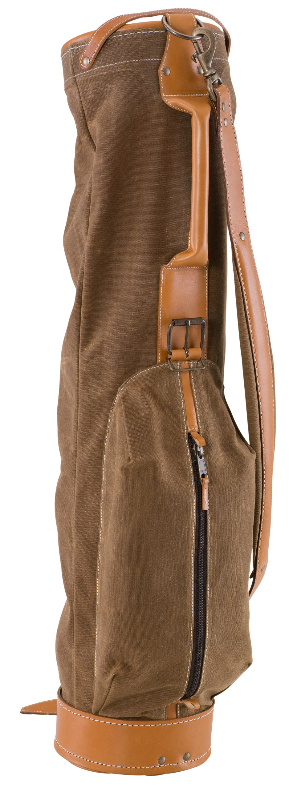 BELDING American Collection Vintage Golf Carry Bag, 7-Inch, Tan by BELDING (Image #1)