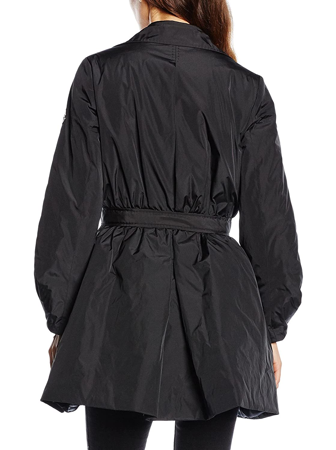 Moncler Piumino Lungo Eloise Nero IT 42 (FR 1): Amazon.it