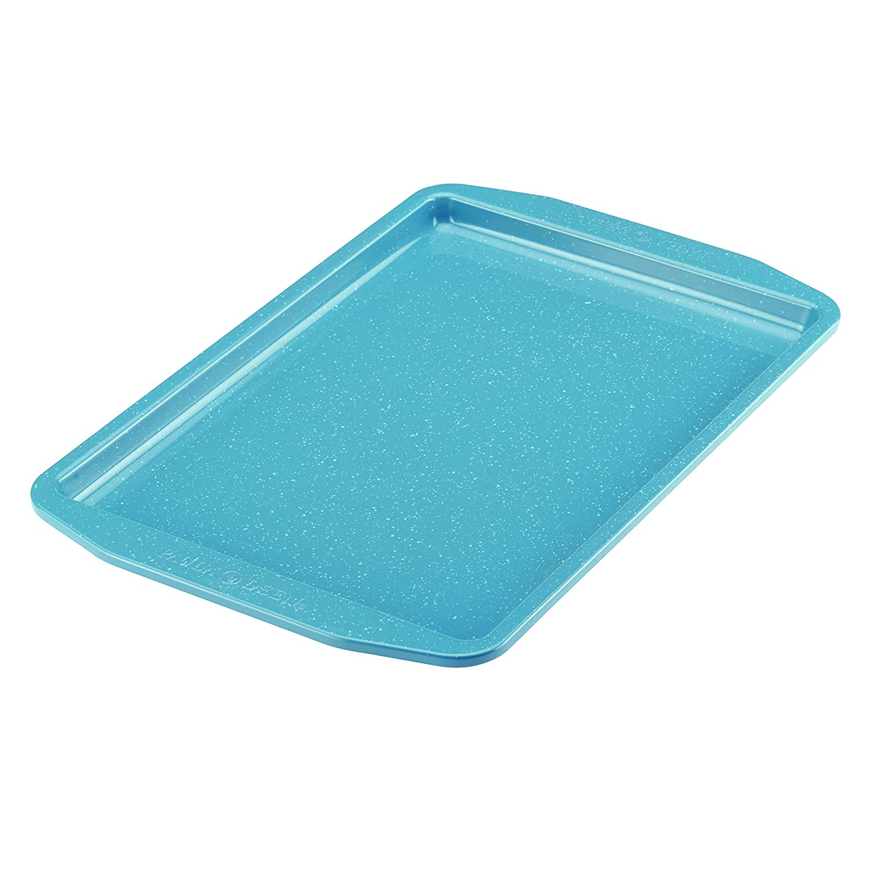 Gulf Blue Speckle Paula Deen Speckle Nonstick Bakeware 10-Inch x 15-Inch Cookie Pan