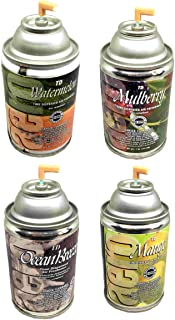 product image for Automatic Spray Air Freshener Refills, Assorted Pack 2, 7oz can (4 Fragrances)