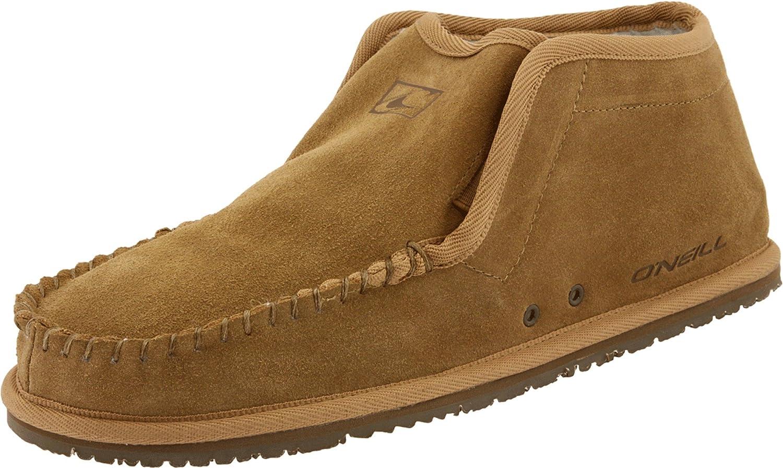 O'Neill Men's Shoes Surf Turkey Suede Slipper Khaki 6-7.5 M US O'Neill