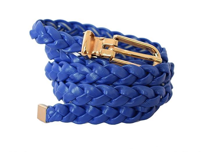 Sucre Belts Cintura da donna in pelle sintetica sottile e raffinata