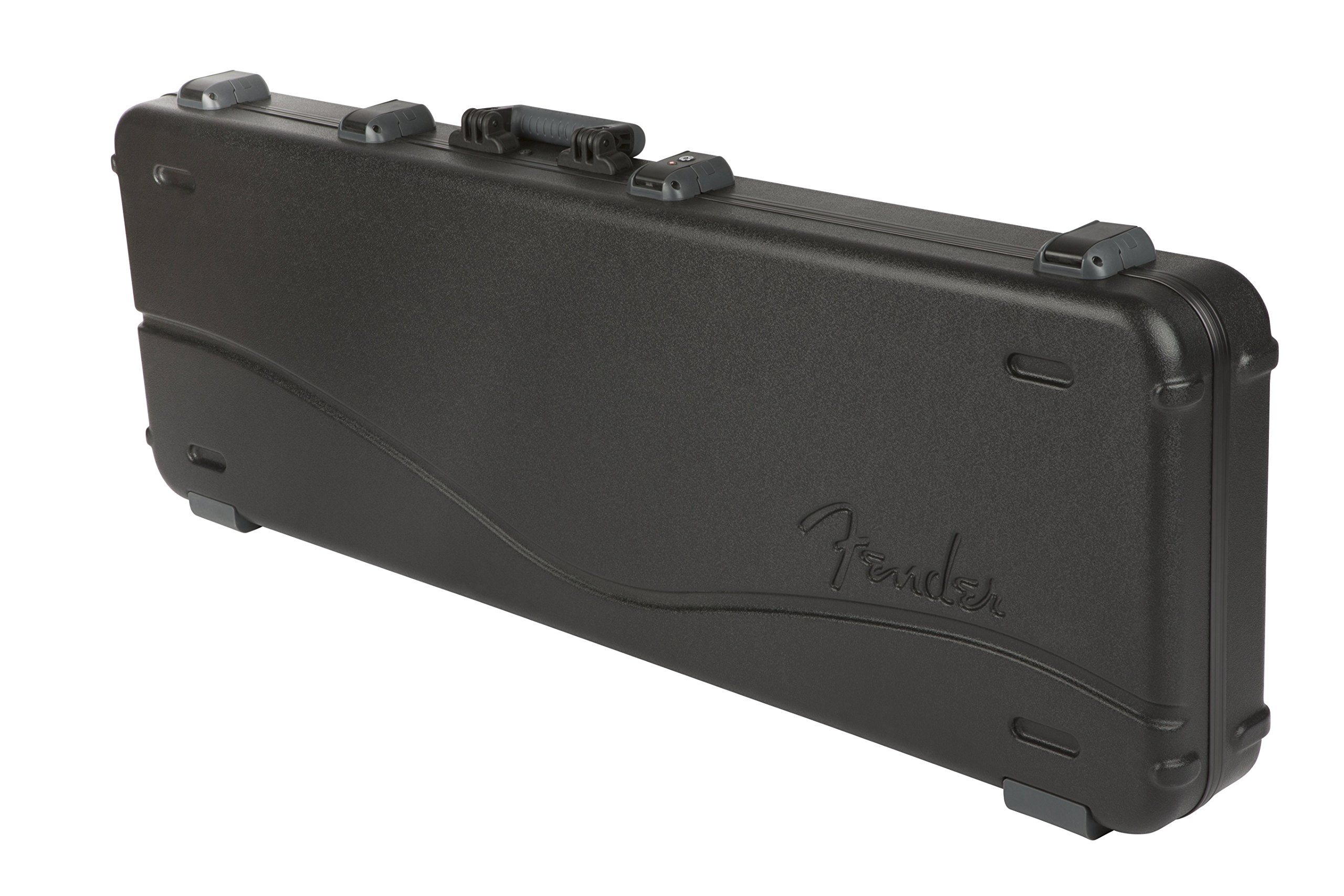 Fender Deluxe Molded Jazz and Precision Electric Bass Guitar Case - Black by Fender