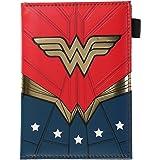 DC Comics Wonder Woman Travel Passport Wallet, Red