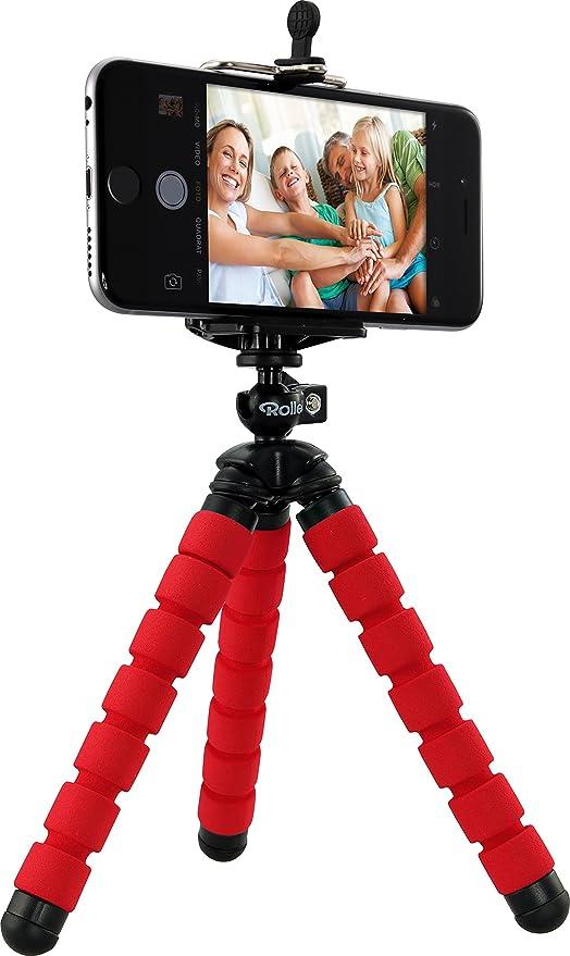 Rollei Selfie Mini Tripod - Minitrípode con Cabezal esférico ...