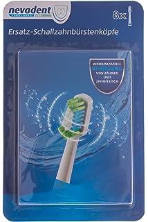 nevadent® 8 cabezales de recambio para cepillo nsks 8 A1