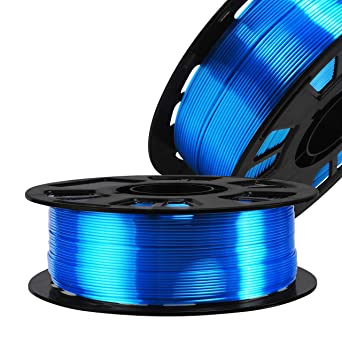 Silk Shiny Fast Color Gradient Change Rainbow Multicolored 3D Printer PLA Filament Widely Compatible for FDM 3D Printer with One Bottle Gift by TTYT3D 1.75mm 3D Printing Material 1kg 2.2lbs Spool