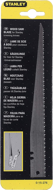 0-15-276 Stanley Ersatzs/ägeblatt f/ür Holz 1275 190 mm L/änge, f/ür 199E//199A//Titan FB//InterLock, 1 St/ück