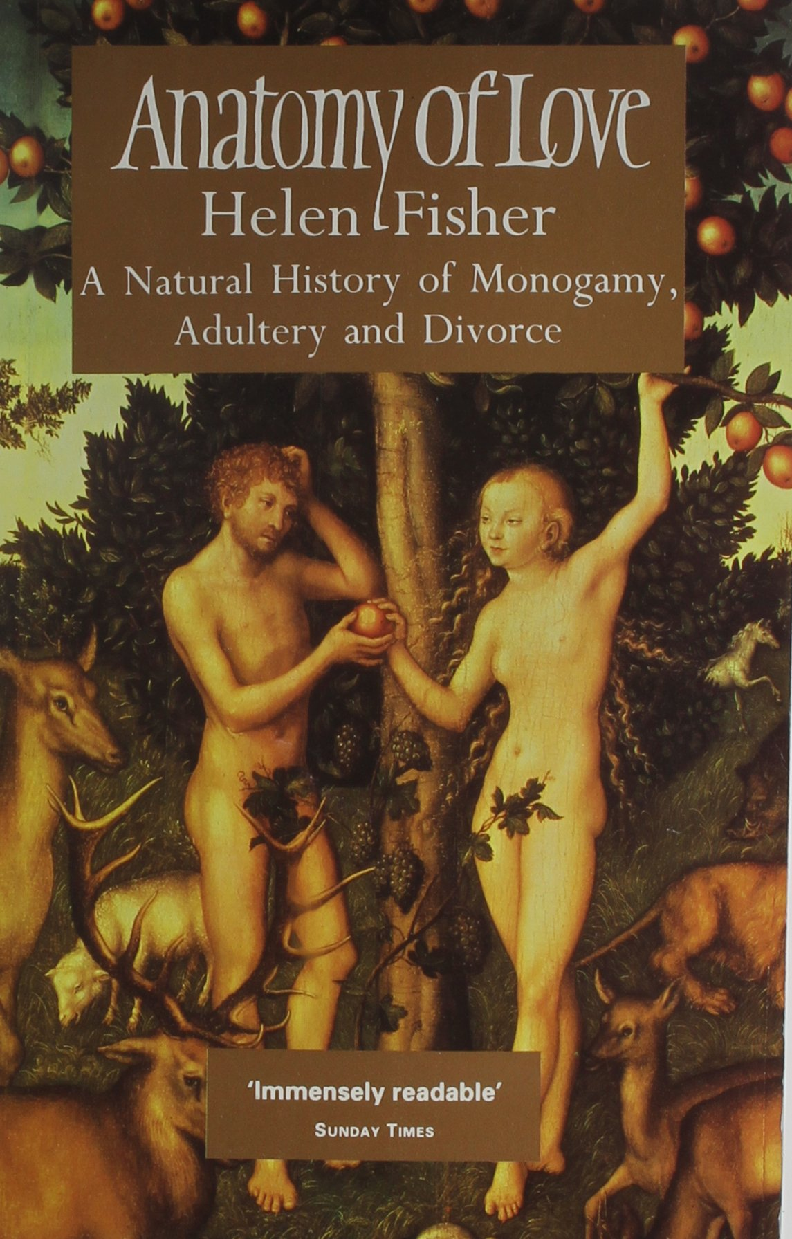 Amazon.com: Anatomy of Love the Natural History of M (9780671712563 ...