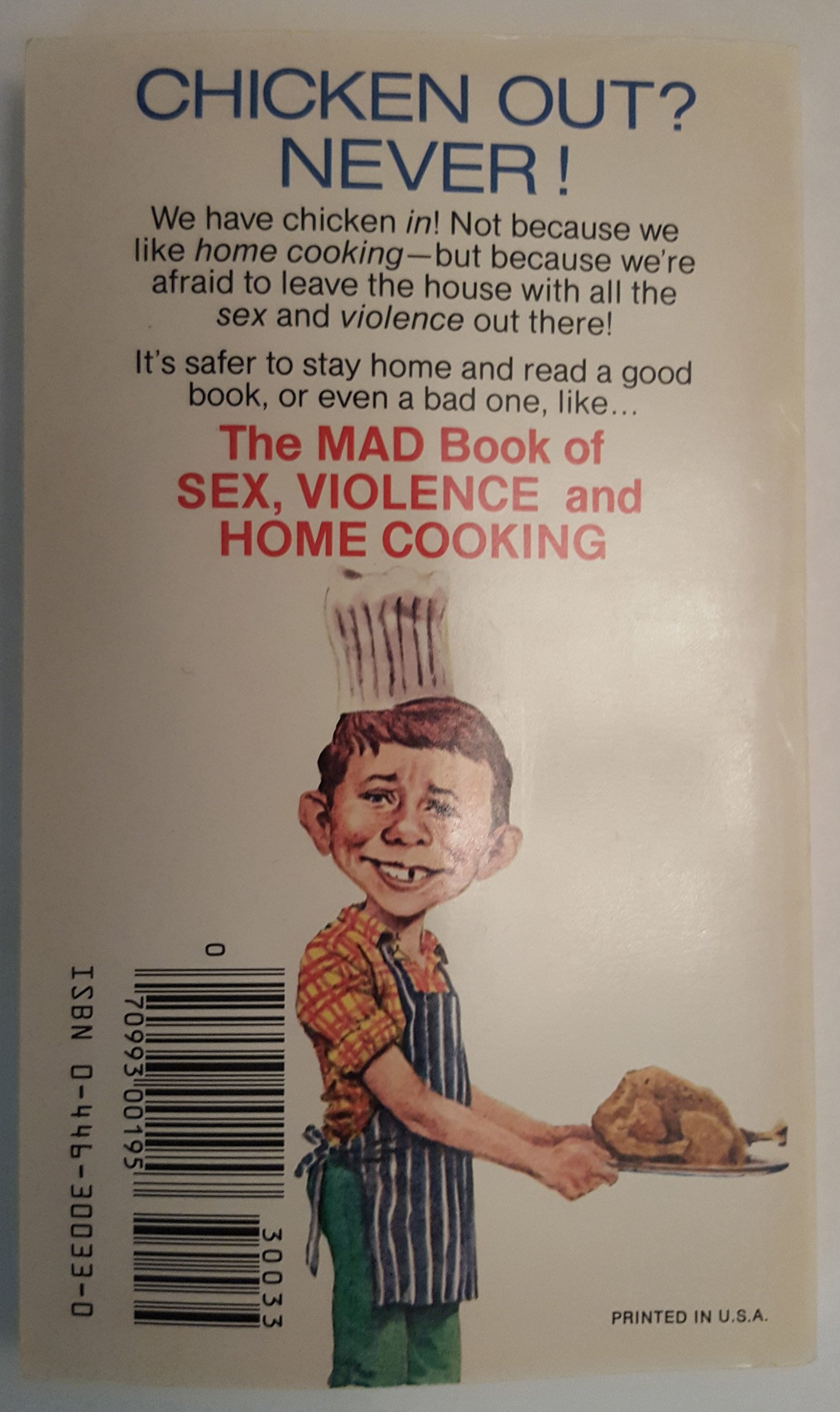 Book cooking home mad sex violence