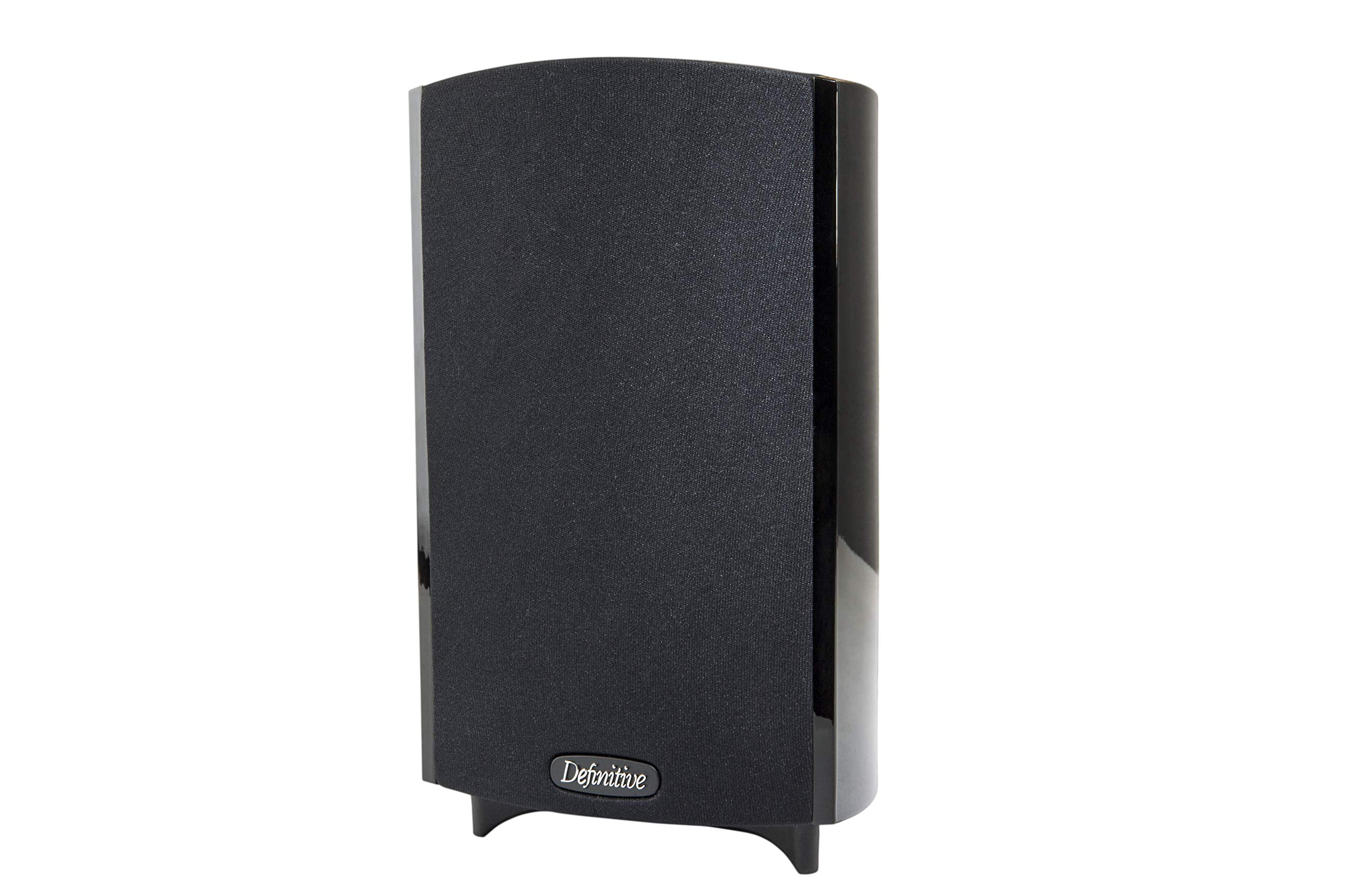 w//BDSS Drivers Pair Definitive Technology ProMonitor 800 Satellite Bookshelf Speaker Pure Aluminum Dome Tweeters /& Planar Pressure Coupled Mid//Bass Radiators for Home Theater Sound Quality Black