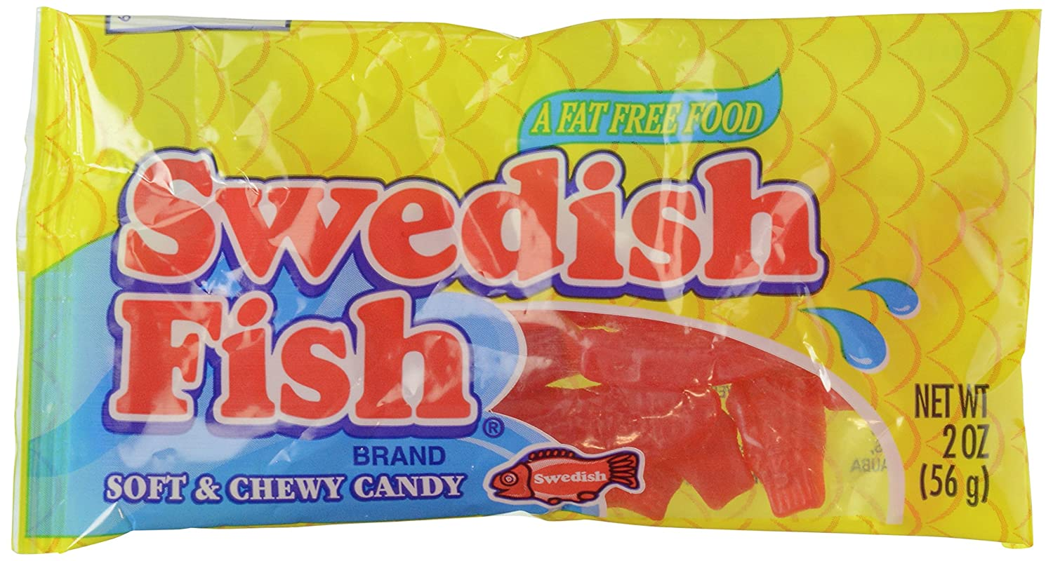Swedish Fish 56g Grocery