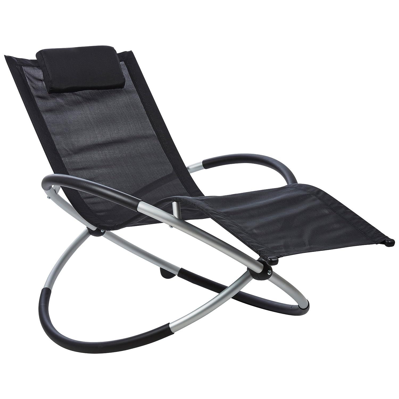 gartenliege kunststoff amazing gartenliege in grau. Black Bedroom Furniture Sets. Home Design Ideas