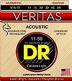 DR アコギ弦 VERITAS フォスファーブロンズ .011-.050 VTA-11