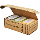 Crate 61 For Him Soap 6-Pack Box Set, 100% Vegan Cold Process Bar Soap, scented with premium essential oils and natural flavo