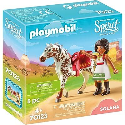 PLAYMOBIL Spirit Riding Free Vaulting Solana: Toys & Games