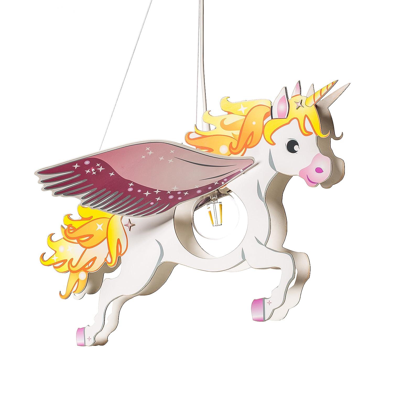 Pendelleuchte PEGASUS rosa/weiß 1-flammig 135464