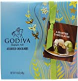 Godiva Belgian Chocolates Gift Box, Assorted, 27 Count 11.9oz. (339g)