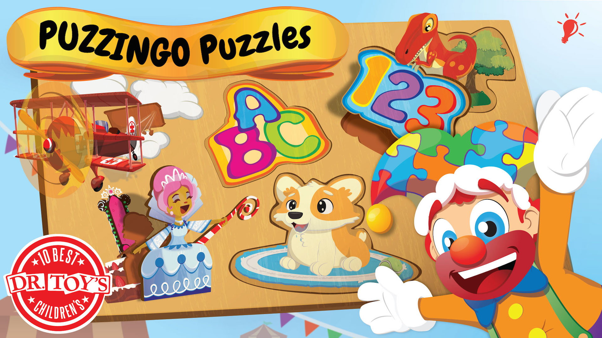 Amazon Toddler Kids Puzzles PUZZINGO – Learning Puzzle Games