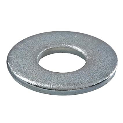 Crown Bolt 30042 3/8 Inch Zinc-Plated SAE Flat Washers, 50-Count