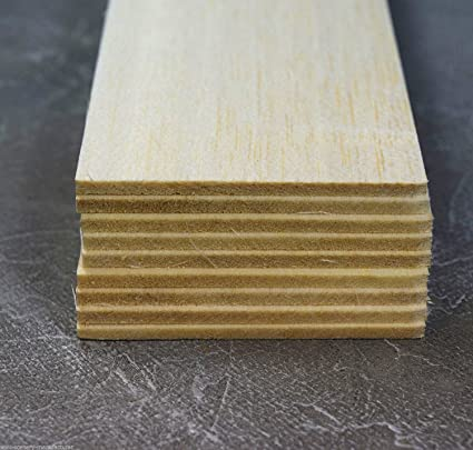 Amazon.com: wws Balsa Wooden Sheets 3.2mm (1/8) Diameter ...