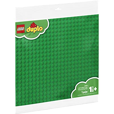 LEGO DUPLO Creative Play Large Green Building Plate 2304 Building Kit (1 Piece): Toys & Games
