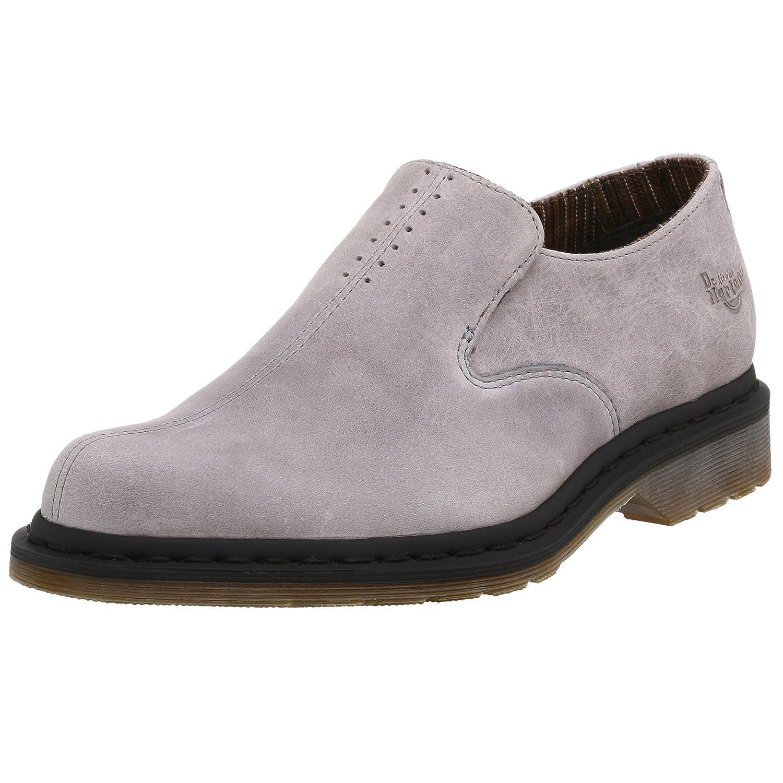 5752292c3c998 Dr. Martens Men's Saber Slip On, Light Grey, 6 UK (7 US): Buy Online ...