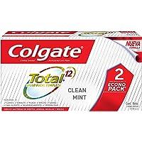 Colgate Pasta Dental Total Clean Mint Multibeneficios, 100 ml, 2 Piezas