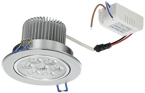 lemonbest brand new 110v dimmable 7w led ceiling light downlight recessed lighting superbright cool white