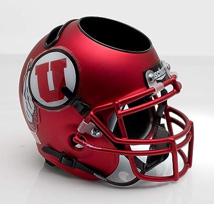 Utah Utes Satin Red Officially Licensed Full Size XP Replica Football Helmet