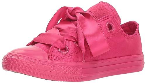 CONVERSE Chuck Taylor All Star Big Eyelets Ox Pink Girls Low
