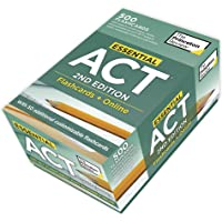 Essential ACT, 2nd Edition: Flashcards + Online: 500 Need-to-Know Topics and Terms to Help Boost Your ACT Score
