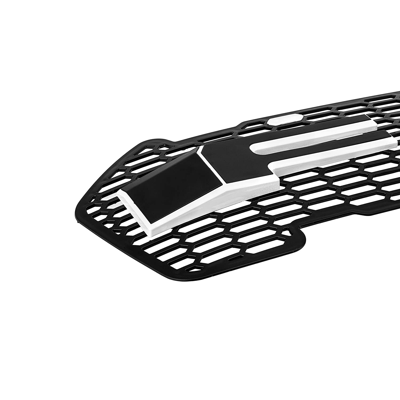 Per Ranger T6/Facelift griglia anteriore nera Wildtrack XLT px pickup Ute ABS