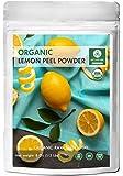 Naturevibe Botanicals USDA Organic Lemon Peel Powder (8 ounces) - Citrus Lemon - 100% Pure & Natural